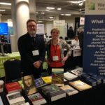 Tom Hartmann and Susan Baker at the 2019 AUP Conference, Detroit