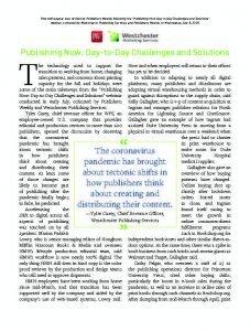 Publishing Now webinar whitepaper