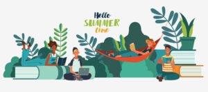 Summer reading image